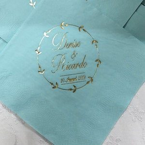 Serviette - Hochzeit 13, personalisiert photo review