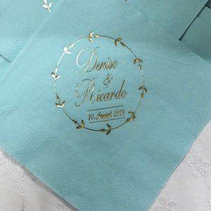 Serviette - Hochzeit 13, personalisiert photo review