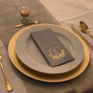 Personalisierte Servietten Hochzeit- Logo - 96 photo review