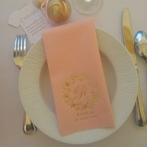 Bedruckte Servietten - Hochzeit - 33 photo review